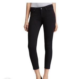 UEC Paige Verdugo Crop Jeans Size 27 Black